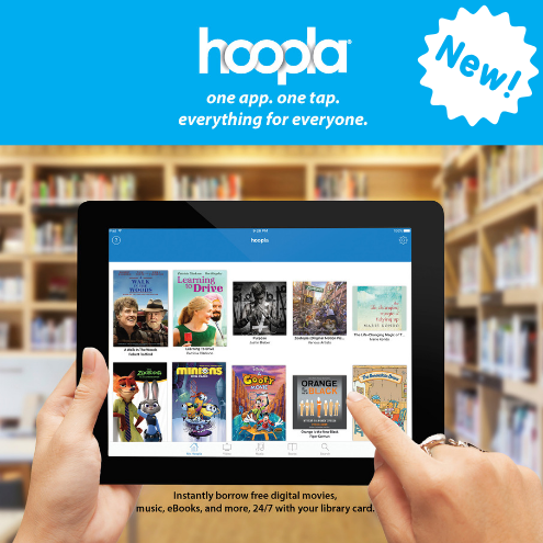Hoopla Now Available
