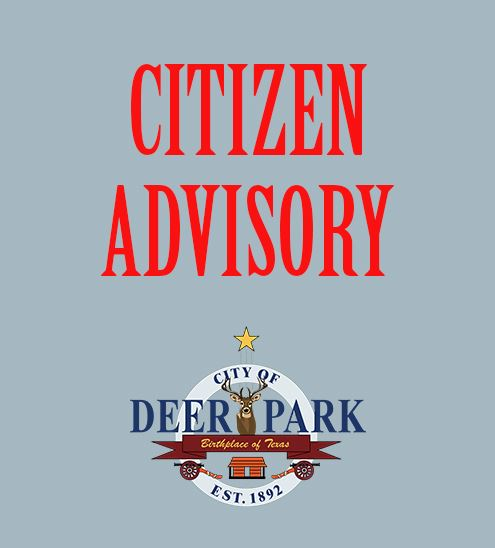 Citizen advisory - FY 18-19 tax rate