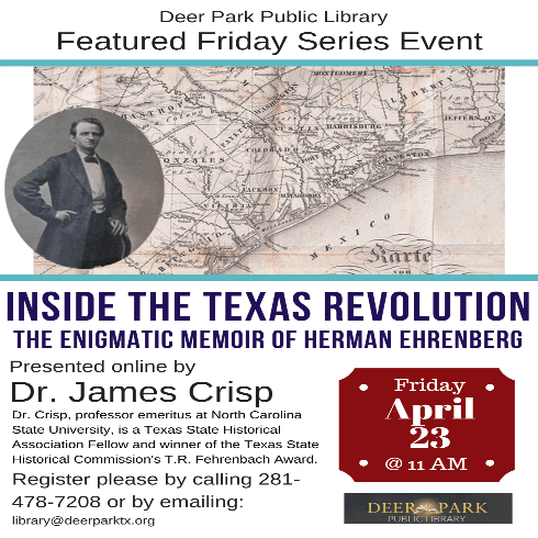 Inside the Texas Revolution Map and Photo--DitS