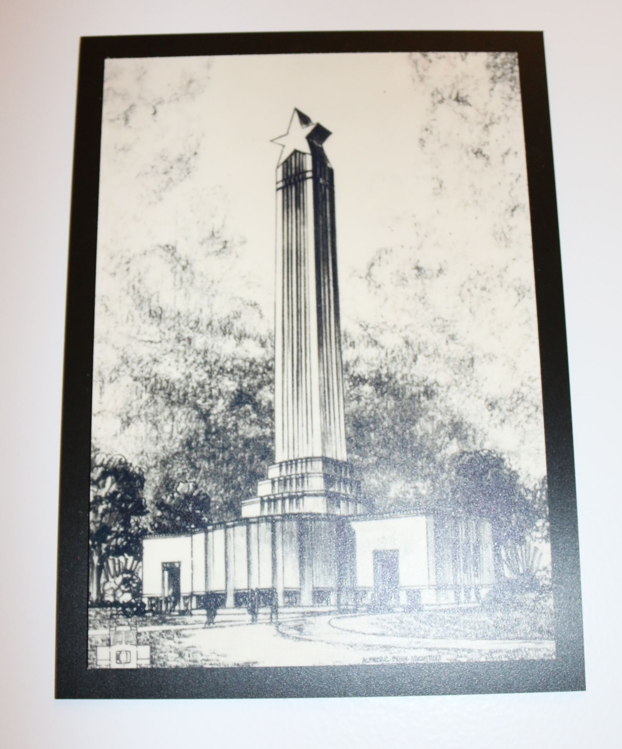 Early monument sketch