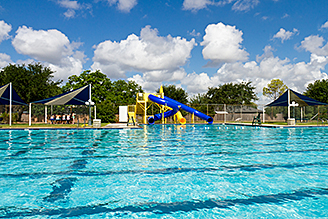 Deer park tx official website aquatics for Garden city pool hours