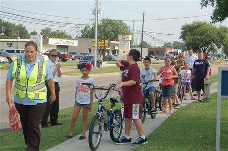 Crossing Guard and Bicycle Safety