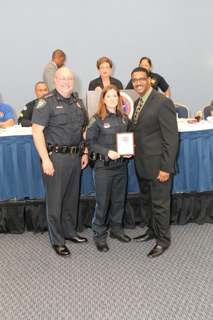 Receiving 2013 - Crime Prevention Agency of the Year Award