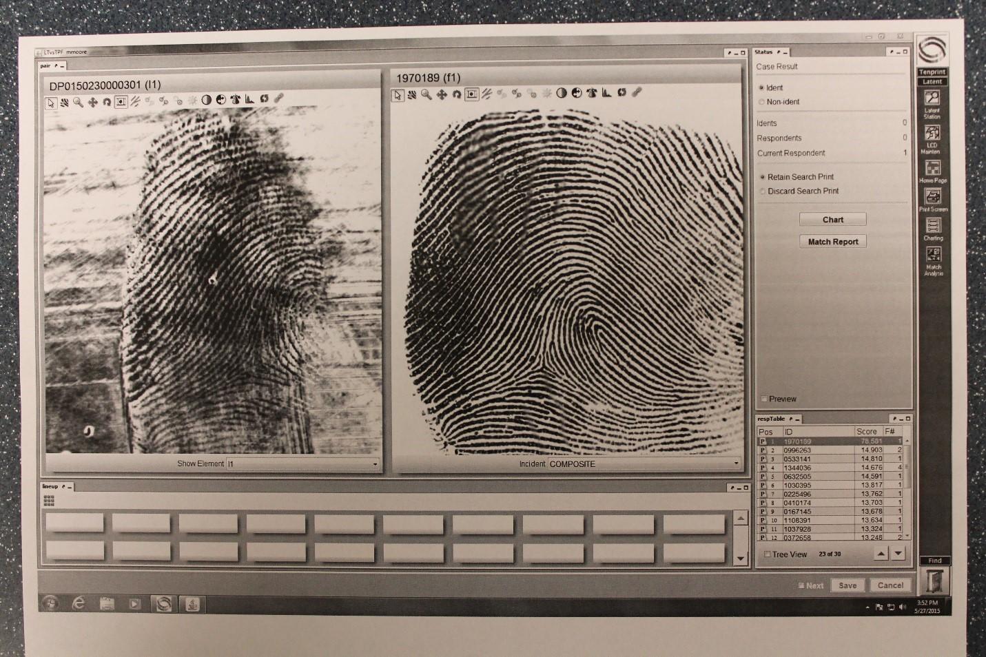 Morpho-Trak Fingerprint
