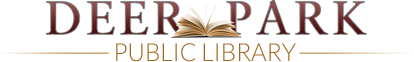 Deer Park Texas Library Home page