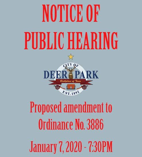 January 7 Public Hearing Graphic
