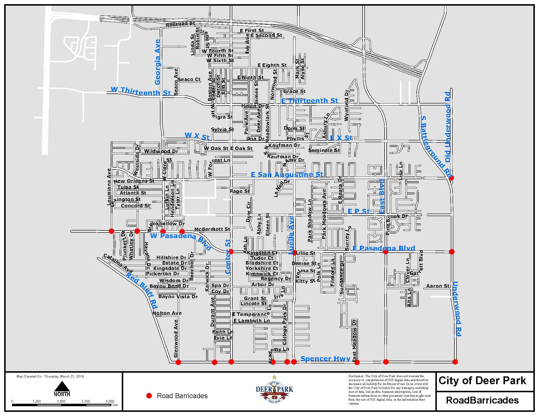 ITC Fire Updates | Deer Park, TX - Official Website