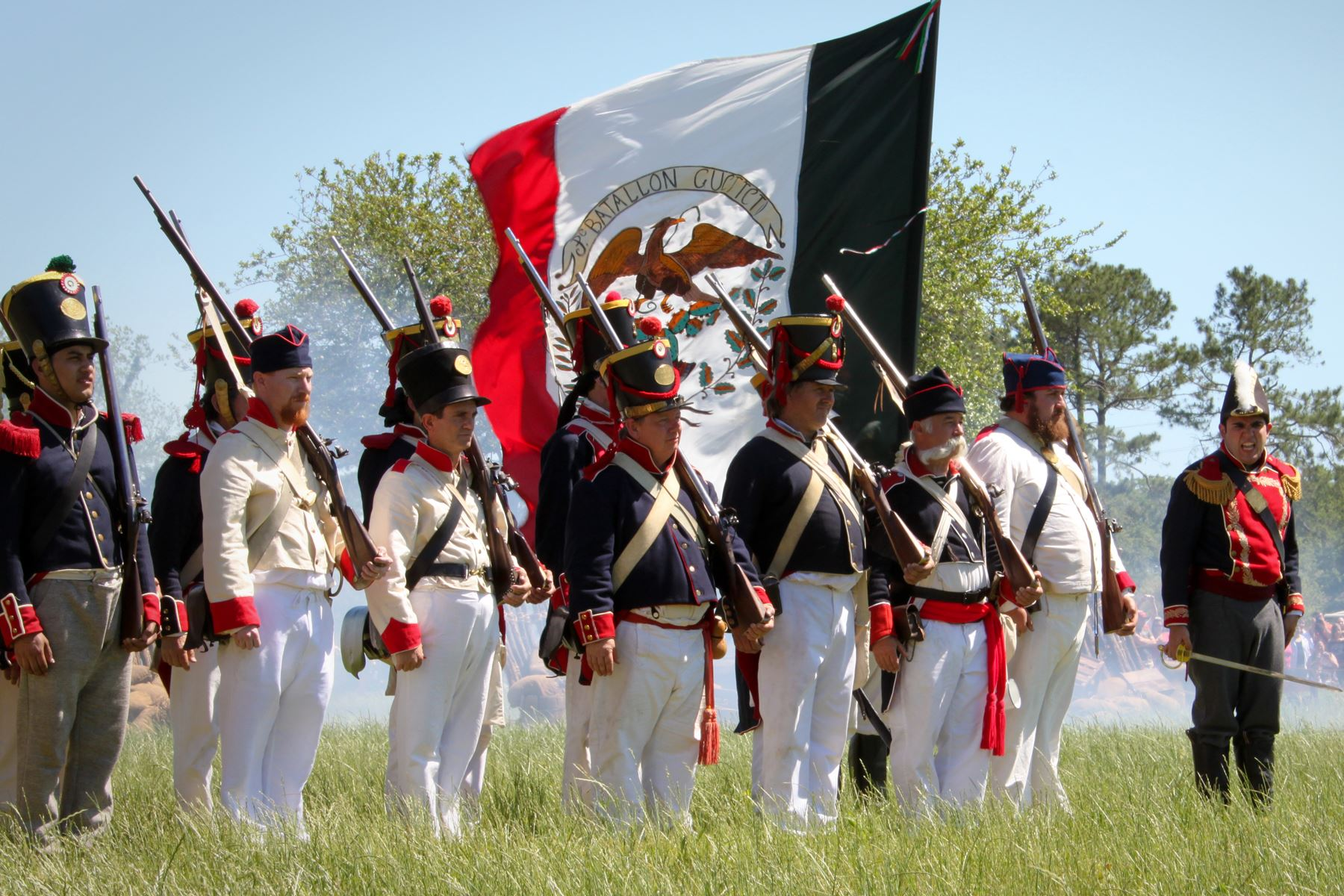 San Jacinto Day Festival - Re-Enactment