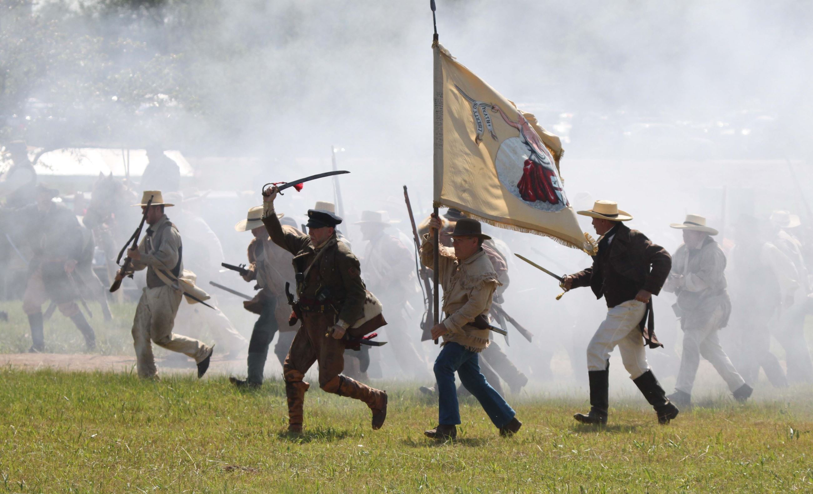 San Jacinto Day Festival - Re-Enactment information